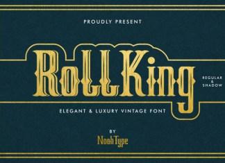 RollKing Blackletter Font