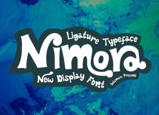 Nimora Display Font