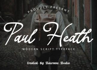 Paul Heath Script Font