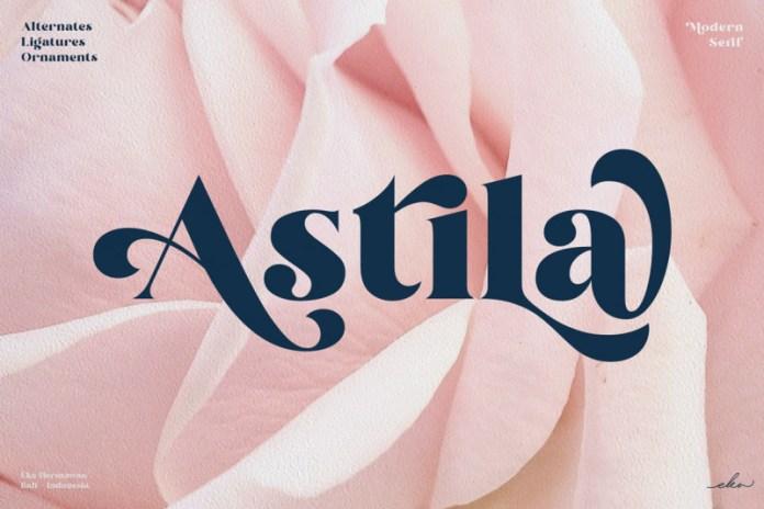 Astila Serif Font