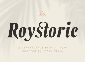 Roystorie Serif Font