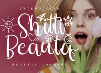 Shitti Beauty Calligraphy Font