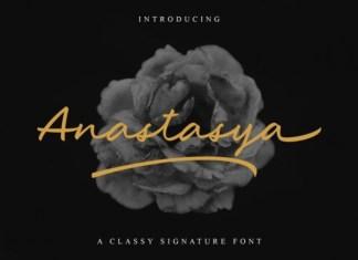 Anastasya Handwritten Font