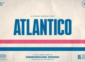 Atlantico Display Font