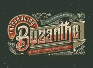 Buzanthe Display Font