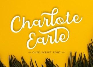 Charlote Earle Script Font