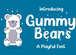 Gummy Bears Display Font