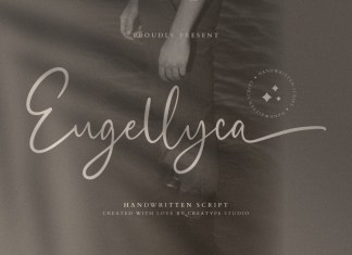 Eugellyca Script Font