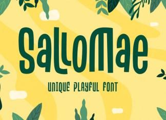 Sallomae Display Font