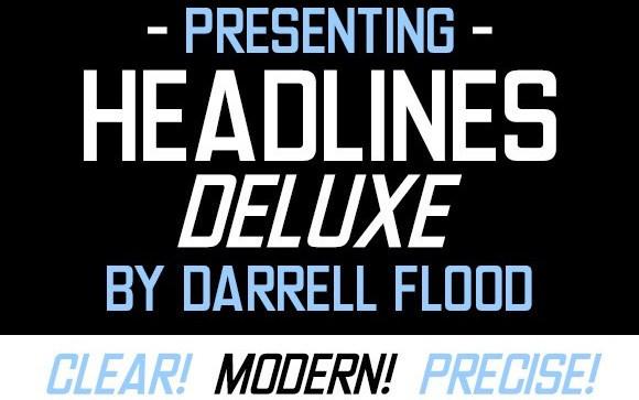 Headlines Deluxe Sans Serif Font