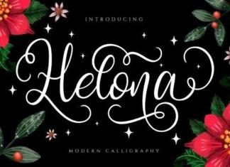 Helona Calligraphy Font