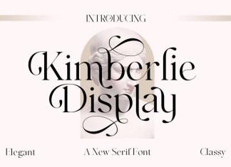 Kimberlie Serif Font