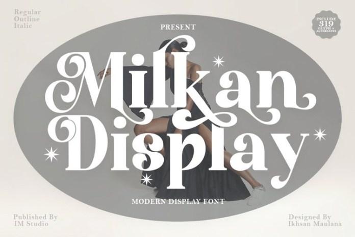 Milkan Serif Font