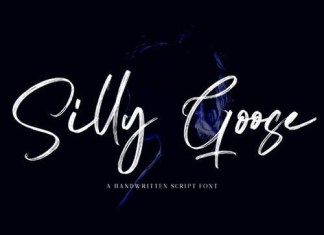 Silly Goose Brush Font