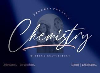 Chemistry Script Font