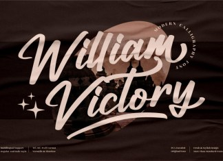 William Victory Script Font