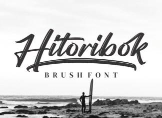 Hitoribok Brush Font