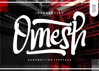 Omesh Script Font