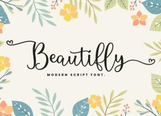 Beautifly Script Font