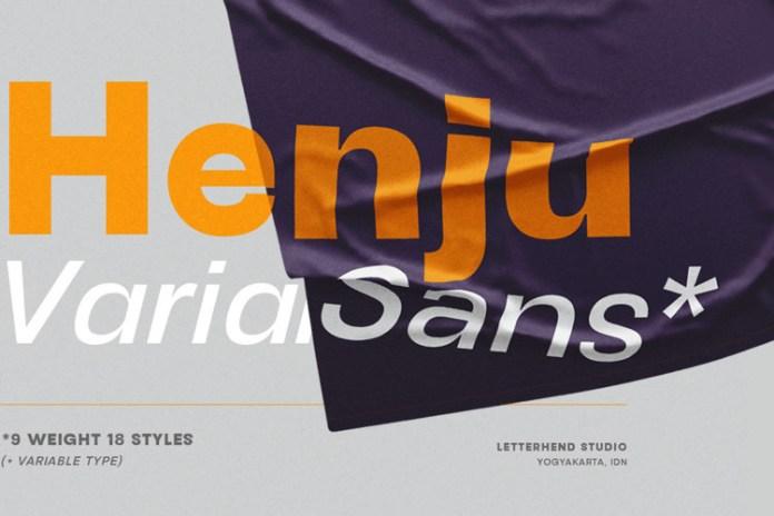 Henju Sans Serif Font