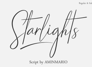 Starlights Handwritten Font