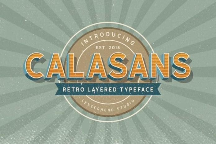 Calasans Sans Serif Font