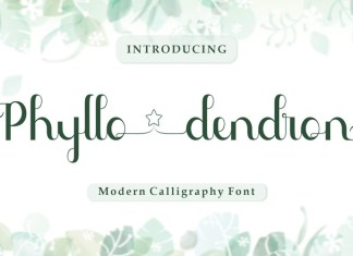 Phyllodendron Script Font