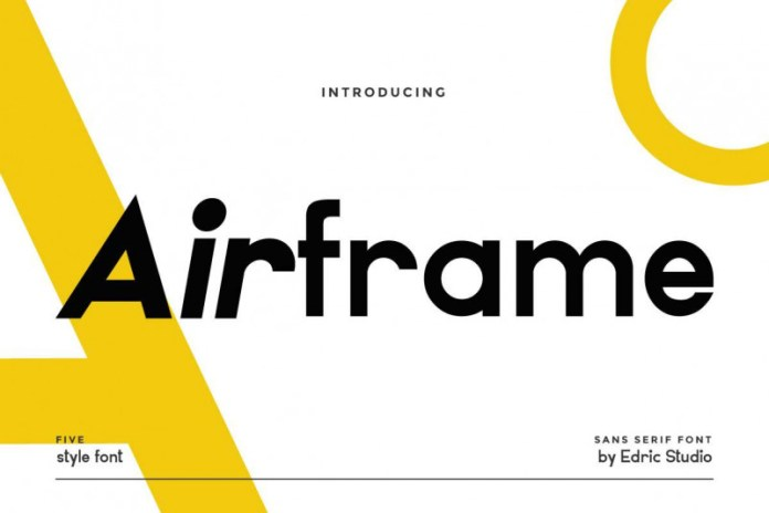 Airframe Sans Serif Font