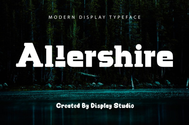 Allershire Display Font