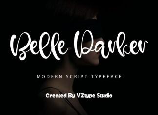 Belle Parker Script Font