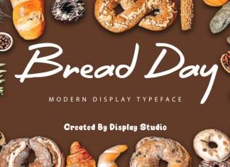Bread Day Handwritten Font