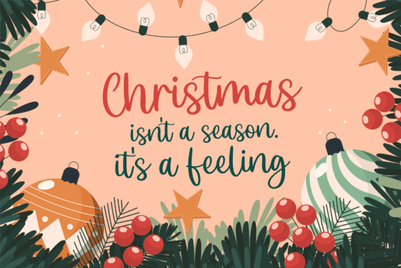 Christmas Scriptty Script Font