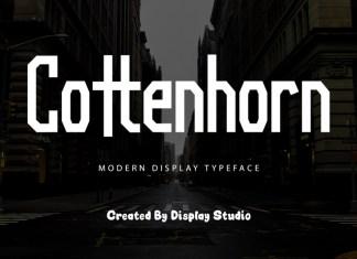 Cottenhorn Display Font