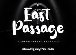 East Passage Script Font