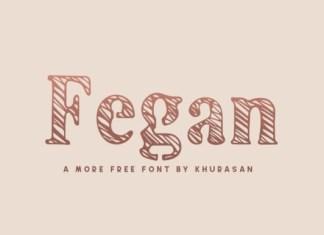 Fegan Display Font