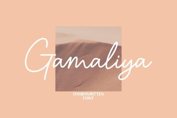Gamaliya Handwritten Font