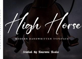 High Horse Font