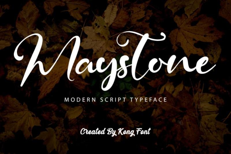 Maystone Font