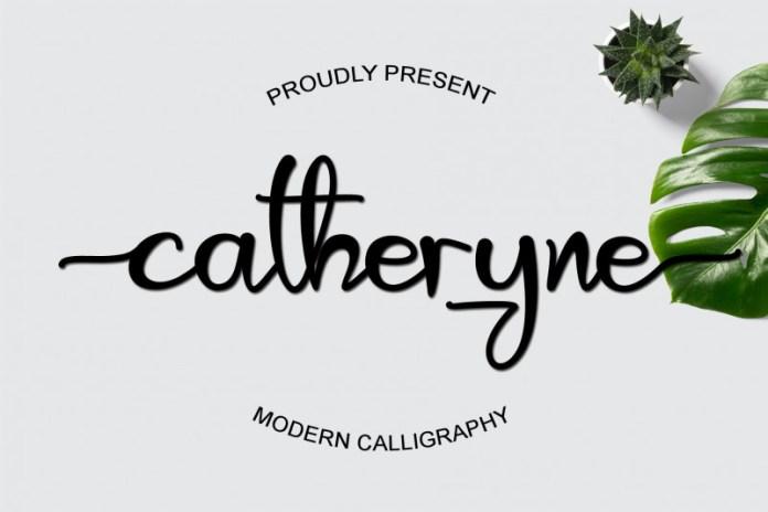 Catheryne Script Font