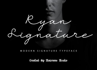 Ryan Signature Script Font