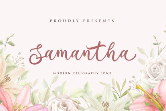 Samantha Script Font