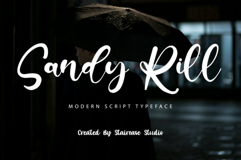 Sandy Rill Script Font