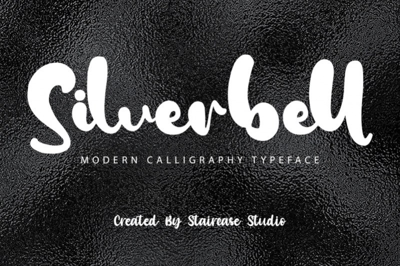 Silverbell Script Font