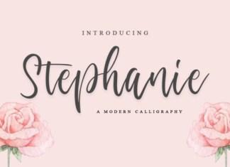 Stephanie Script Font