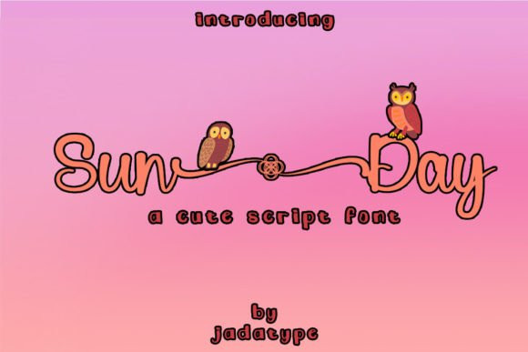 Sun Day Script Font