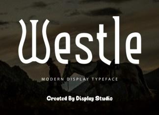 Westle Display Font