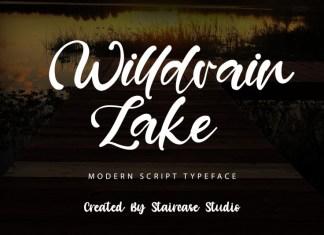 Willdrain Lake Script Font