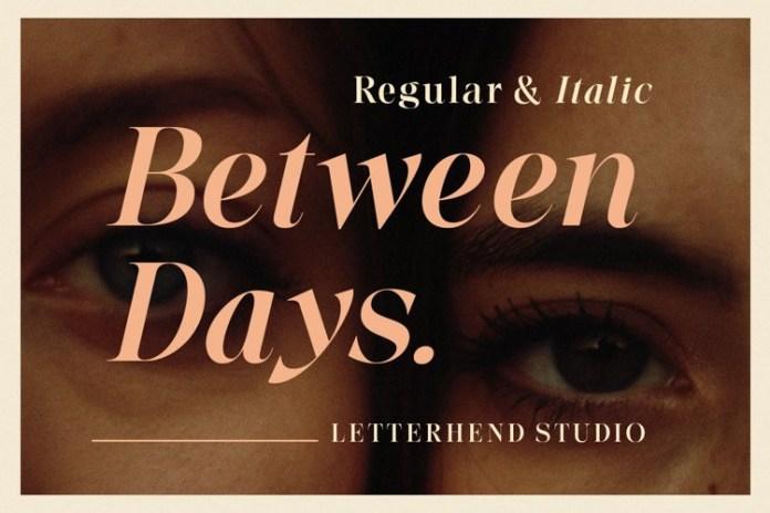 Between Days Serif Font