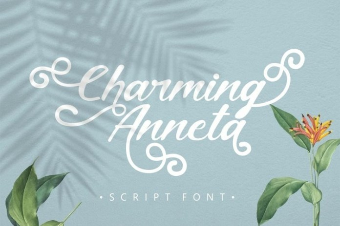 Charming Anneta Calligraphy Font