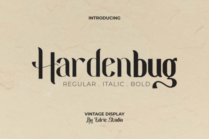 Hardenburg Sans Serif Font